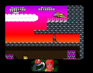 Captain Planet - Fire Level Screenshot