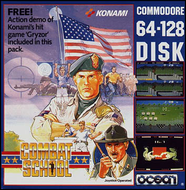 Combat School - Disk Box Art - C64/128