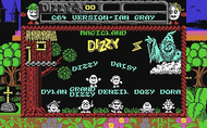 Magic Land Dizzy - Title Screen - C64