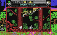 Magic Land Dizzy - Ingame Screen - C64
