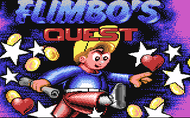 Flimbo's Quest - Loading Screen (C64)