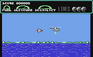 Helikopter Jagd - Ingame Screen - C64