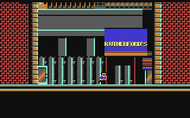 Hudson Hawk - Ingame Screen #1 - C64