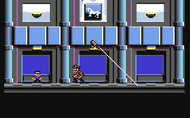 Hudson Hawk - Ingame Screen #6 - C64