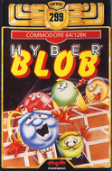 Hyper Blob (C64) Screenshot