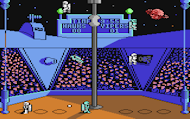 Hypa-Ball - Ingame - C64 Screenshot