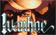 Ivanhoe title screen Atari ST