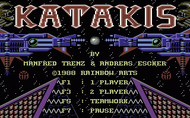 Katakis - Title Screen - C64