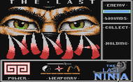 The Last Ninja (C64) Screenshot
