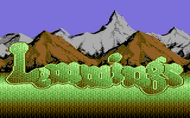 lemmings-c64 Screenshot