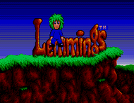 lemmings-sms Screenshot