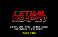 Lethal Weapon - Title Screen (Amiga)