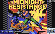 Midnight Resistance - Load Screen - C64