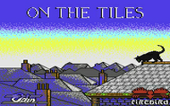 On The Tiles - Loading Screen - C64