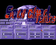 Scorched Tanks - Title Screen - Amiga
