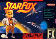 Starfox SNES Box Screen Screenshot