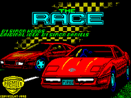 The Race - Title Screenshot