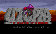 Utopia Title Screenshot