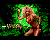 Vixen title screen (Amiga/ST)