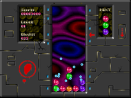 Xixit - Screenshot of DOS gameplay Screenshot