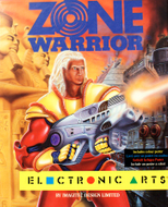 Zone Warrior Atari ST boxart